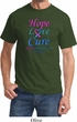 Thyroid Cancer Awareness Tee Hope Love Cure T-shirt
