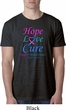 Thyroid Cancer Hope Love Cure Burnout Shirt