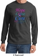 Thyroid Cancer Hope Love Cure Long Sleeve