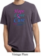 Thyroid Cancer Hope Love Cure Pigment Dyed Shirt