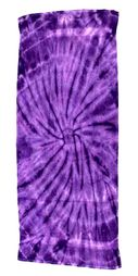 Tie Dye Spider Purple Retro Vintage Groovy Beach Towel