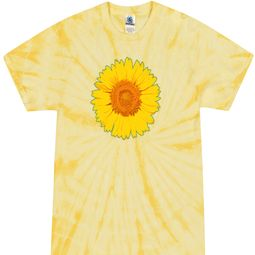 Tie Dye Sunflower T-shirts