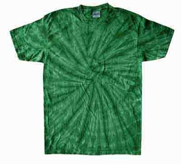 Tie Dye T-shirt Spider Kelly Retro Vintage Groovy Adult Tee Shirt