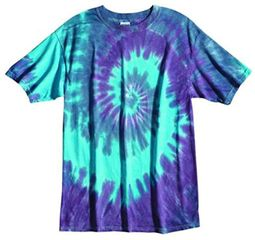 Tie Dye T-shirt - Sundog Pastel Twilight Adult Tee