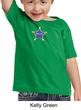 Toddler Kids Police Shirt - Embroidered Star