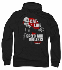 Tommy Boy Hoodie Sweatshirt Cat Like Black Adult Hoody Sweat Shirt