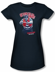 Tommy Boy Shirt Juniors Dinghy Navy Tee T-Shirt