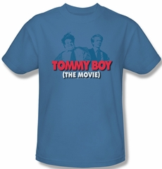 Tommy Boy Shirt Movie Logo Adult Carolina Blue Tee T-Shirt