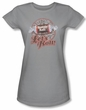 Tootsie Roll Juniors T-Shirts - Lets Roll Silver Tee