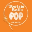 Tootsie Roll Juniors T-Shirts - Pop Logo Orange Tee