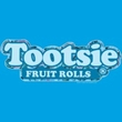 Tootsie Roll Kids T-Shirt Tootsie Fruit Rolls Logo Turquoise Youth Tee