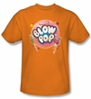 Blow Pop T-Shirts - Blow Pop Bubble Adult Orange Tee