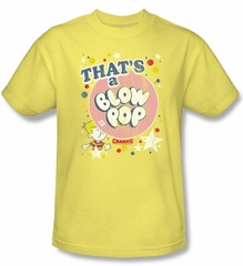 Blow Pop T-Shirts - That's A Blow Pop Adult Banana Tee