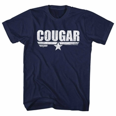 Top Gun Shirt Cougar Navy T-Shirt