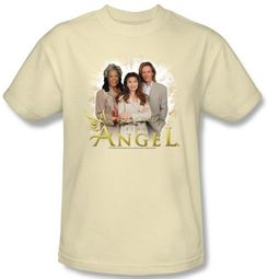 Touched By An Angel T-Shirt - Adult Cream