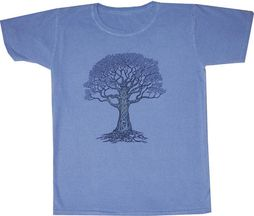 Tree Of Life New Age Ladies Junior T-Shirt Tee Shirt