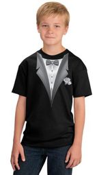 Tuxedo Kids T-shirts - Youth