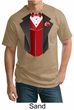 Tuxedo Tall T-shirt With Red Vest Funny Adult Tee Shirt