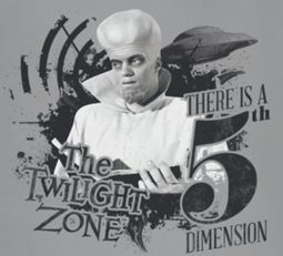 Twilight Zone 5th Dimension Shirts