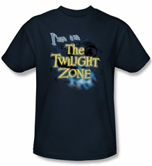 Twilight Zone Kids T-Shirt - I'm In The Twilight Navy Blue Youth
