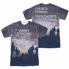 U.S. Army Shirt Up Hill Sublimation Shirt Front/Back Print