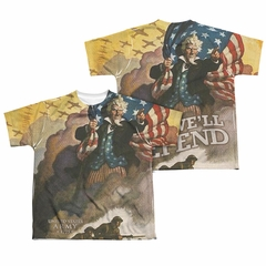 U.S. Army Shirt Vintage Poster Sublimation Youth Shirt