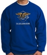 U.S. Navy Seal Crewneck Sweatshirt – Devgru Adult Pullover Royal Blue