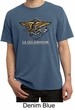 U.S. Navy Seal Shirt Devgru Mens Pigment Dyed Tee T-Shirt