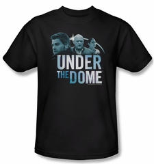 Under The Dome Shirt Character Art Adult Black Tee T-Shirt