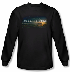 Under The Dome Shirt Dome Key Art Long Sleeve Black Tee T-Shirt