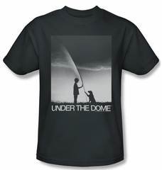 Under The Dome Shirt I'm Speilburg Adult Charcoal Tee T-Shirt