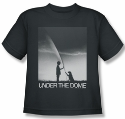 Under The Dome Shirt Kids I'm Speilburg Charcoal Youth Tee T-Shirt
