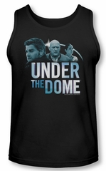 Under The Dome Tank Top Character Art Black Tanktop