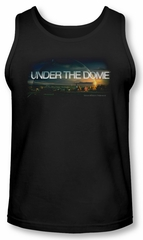Under The Dome Tank Top Dome Key Art Black Tanktop