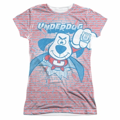 Underdog Burst Sublimation Juniors Shirt