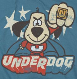 Underdog Flying Logo Shirts