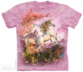 Unicorn Rainbow Shirt Tie Dye Adult T-Shirt Tee