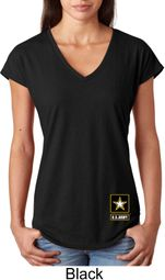 US Army Bottom Print Shirts