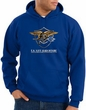 US Navy Seal Hoodie Hooded Sweatshirt – Devgru Adult Royal Blue Hoody