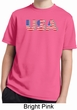 USA 3D Kids Moisture Wicking Shirt