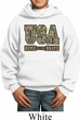 USA Home of the Brave Kids Hoodie