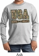 USA Home of the Brave Kids Long Sleeve Shirt