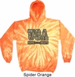 USA Home of the Brave Tie Dye Hoodie