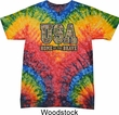 USA Home of the Brave Tie Dye Shirt