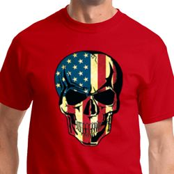 USA Skull Mens Shirts