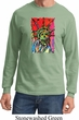 USA Tee Statue of Liberty Painting Long Sleeve