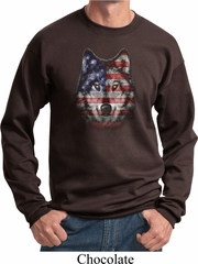 USA Wolf Sweatshirt
