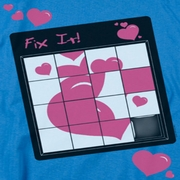 Valentine's Day Fix It Puzzle Shirts
