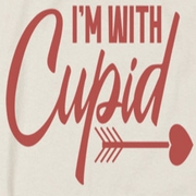 Valentine's Day I'm With Cupid Shirts
