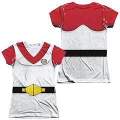 Voltron Keith Costume Sublimation Juniors Shirt Front/Back Print